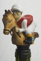 Horse and Jockey Wine Stopper