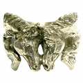 Horse Heads Napkin Rings