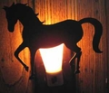 Horse Night Light Prancer