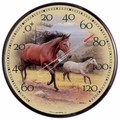 Horse Outdoor Thermometer