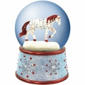 Jewel Snow Globe  by Horse Of a Different Color