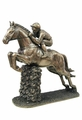 Jumping Horse in Cold Cast Bronze