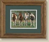 Pint-sized Paints Framed Print