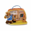 Plush My Pony Stable Playset 6.5""