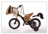 Pony Bike Kids Bicycle Tan and Black