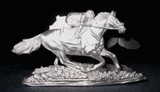 Race Horse and Jockey Card Holder
