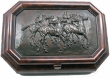 Race Horse Gentlemans Jewelry Box