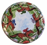 Racing - Hand Painted Round Trivet