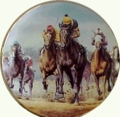Seattle Slew Collector Plate