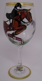 Single Jumper Wine Glass by Frederique