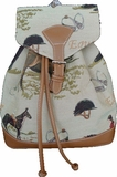 Tapestry Backpack Horse