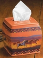 Tissue Box - Taking Off Horses