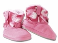 Toddler Pink Camo Boot Slippers