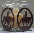 Votive Candle Holder - Western Pleasure