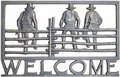 Welcome Sign - Cowboy