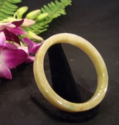 Honey Jade Bangle