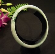 Imperial Highlight Jade bangle