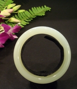 Mutton Fat Nephrite Jade Bangle