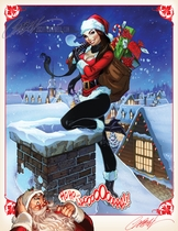J. Scott Campbell's Complimentary Holiday Print
