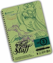 J. Scott Campbell's The Ruff Stuff Sketchbook Volume #3 (Signed)