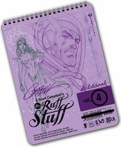 J. Scott Campbell's The Ruff Stuff Sketchbook Volume #4 (Signed)