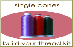 Single Piece Poly Thread Cones