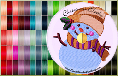 100-cones Christmas Poly-Thread Kit Special<br>December 2, 2012