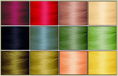 Art Nouveau 12-cone Polyester Thread Kit<br> 45% OFF!