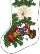 Christmas Elves Stocking