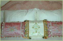 Classic Pillows with Lovely Lilies