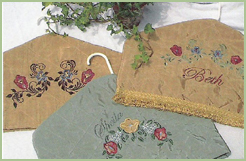 Edwardian Style Hanger Covers