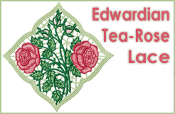 Edwardian Tea-Rose Lace