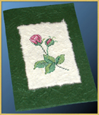 Embroider On Strong Paper