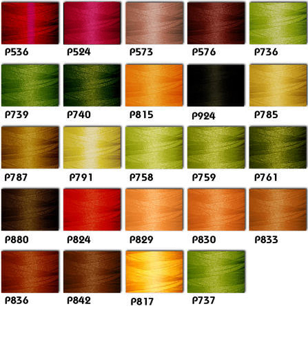 Fall 24-cone Polyester Thread Kit