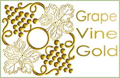 Grape Vines Gold