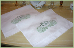 Guest Towel Embroidery