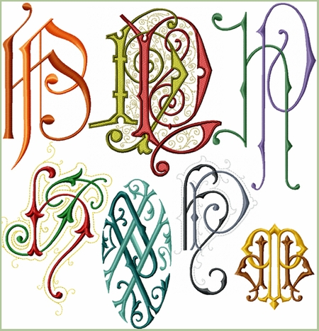 HP - PH Initials Set