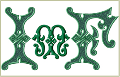 Irish Magic Font 5x7