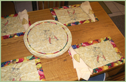 Kitchen Towel and Placemats