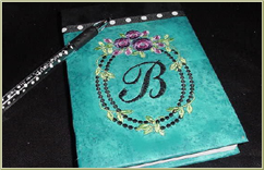 Making Monogrammed Notepad