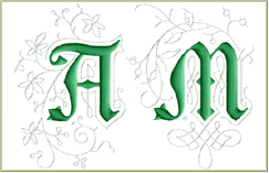 Medieval Accents Font