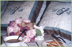 Monogrammed Bed Pillows