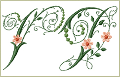 New Embroidery Fonts<br>March 08, 2012