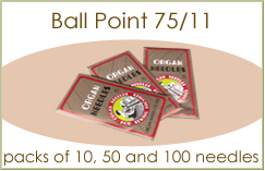 Organ Ball Point Needles 75/11
