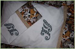 Pillow Cases with Venice Initials