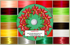 Poinsettia Gold Poly & Metallic Thread Kit