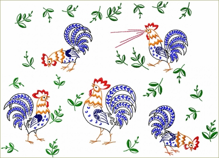 Rooster Parade
