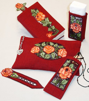 Rose Lace Accessories Kit for Lady