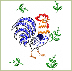 Surprised Rooster