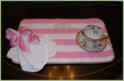 Table Mat For Afternoon Tea